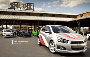 2012 Chevrolet Sonic Get Noticed