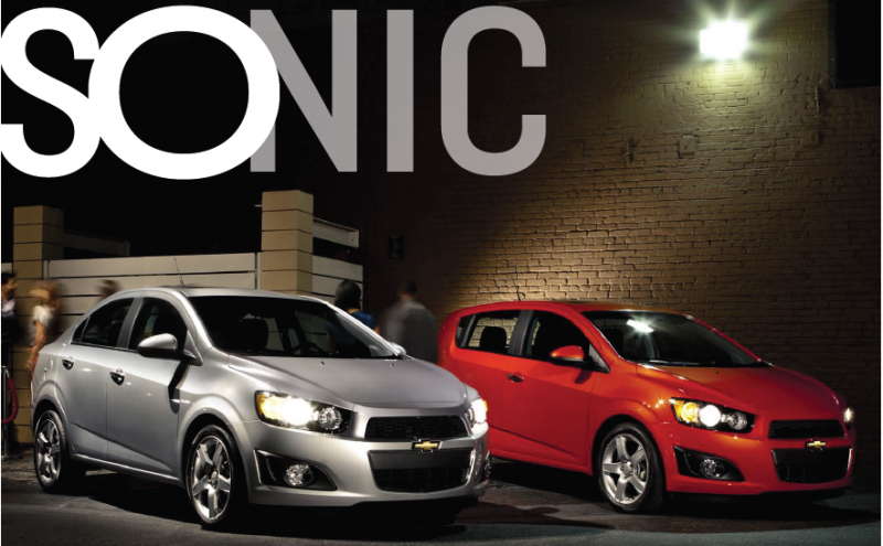 2012 Chevrolet Sonic Sedan & Hatchback