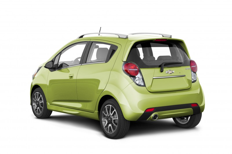 Chevrolet Spark in Jalapeno - The Chevrolet Spark, shown in Jalapeno, goes on sale this summer