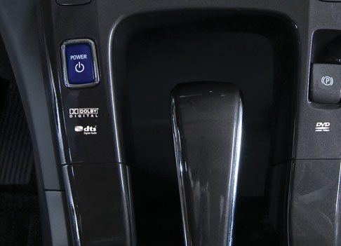 2012 Chevrolet Volt Power Button