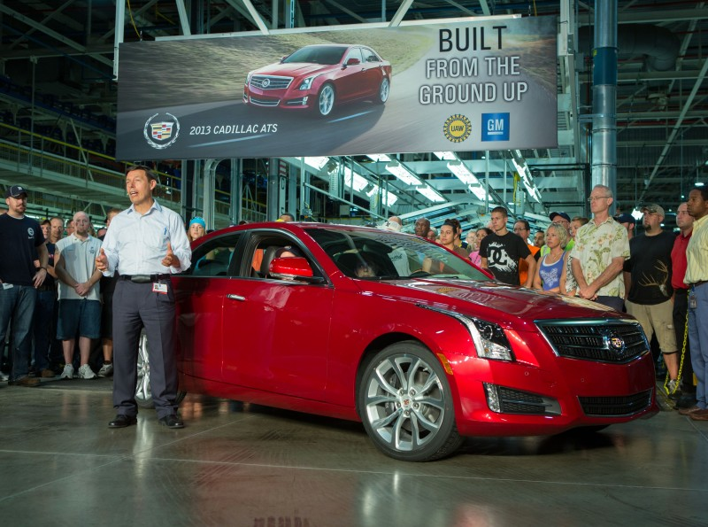 Plant Manager Tony Francavilla talks about the first 2013 Cadillac ATS