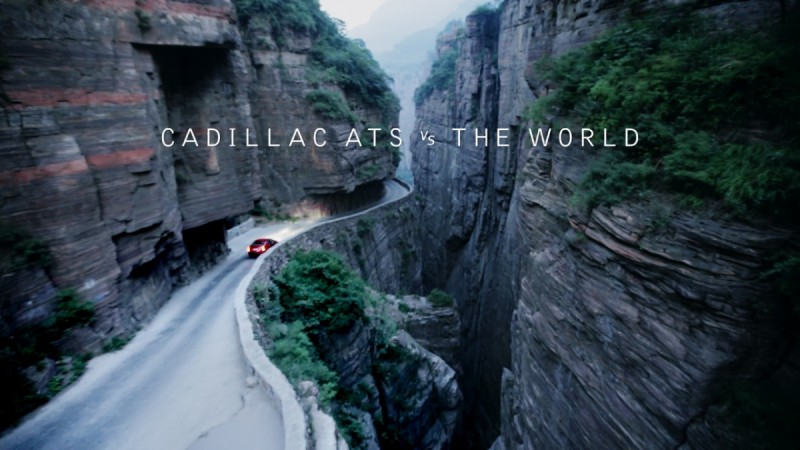 Cadillac ATS Challenges the World