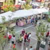 Saturday Market, downtown Boise life, B Honey stand, Carrie Quinney photo