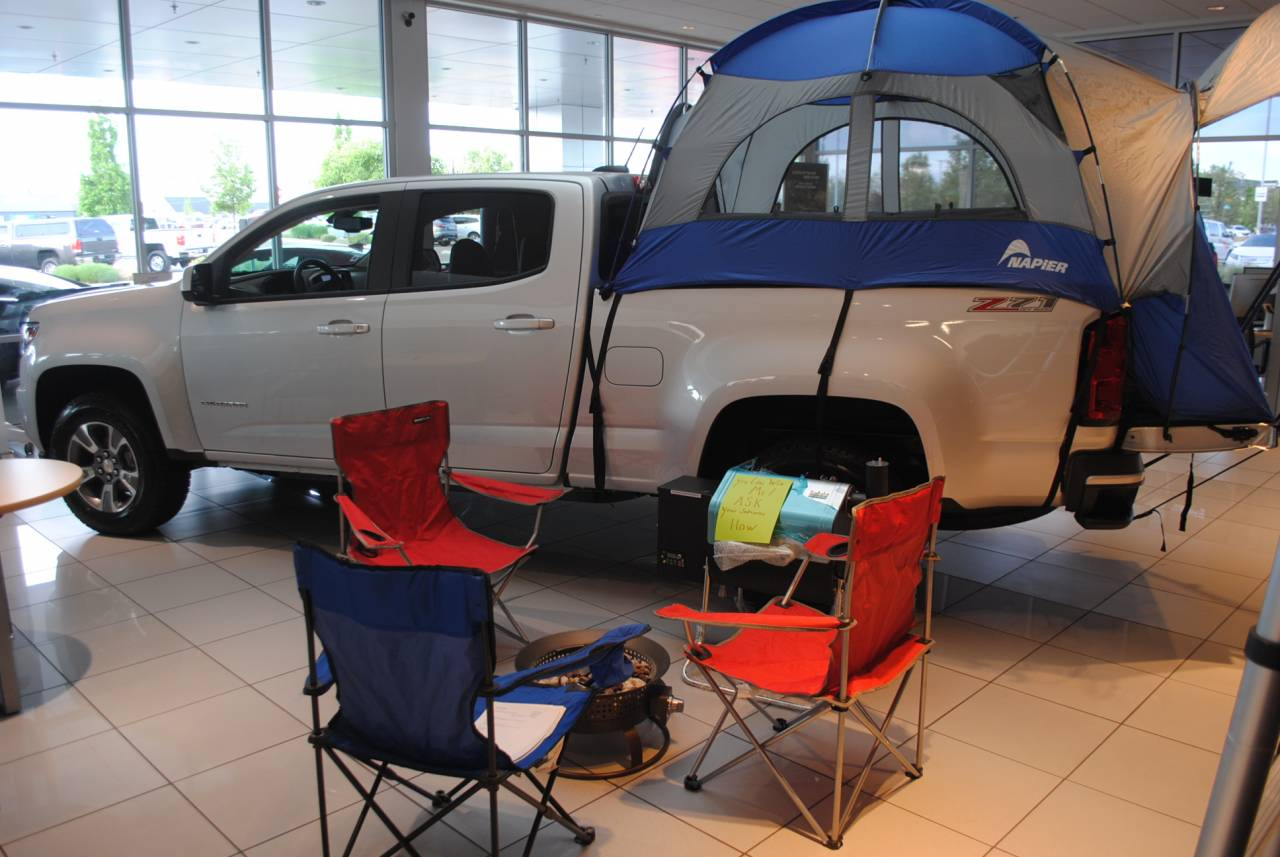 Chevy Colorado Bed Tent & Chevy Colorado Bed Tent   Peterson Chevrolet Buick Cadillac of Boise