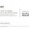 Tire Event Ends Oct 31